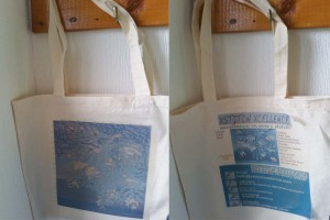 Xstitch Xcellence Winter Pearl Blue Shopper Bag
